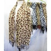 36 Units of Animal Printed Scarves - Womens Fashion Scarves