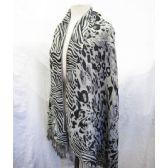 24 Units of Cheetah Printed Scarves - Womens Fashion Scarves