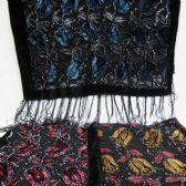 24 Units of Beaded Scarves - Womens Fashion Scarves