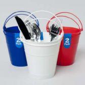 96 Units of Bucket 2pk Plastic