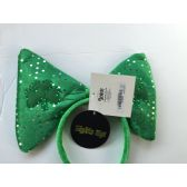 48 Units of Saint Patrick Day LED Flashing Headband With Large Bow - St. Patricks