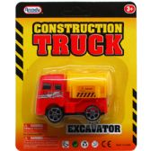 96 Units of 2 Piece Construction Trucks Play Set