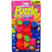 72 Units of 10 Piece Educational Puzzle Play Set
