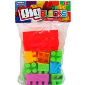 96 Units of 20 Piece Jumbo Blocks - Educational Toys