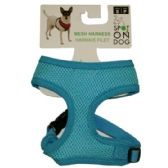 48 Units of SMALL SOFT HARNESS ASST COLORS - Pet Accessories