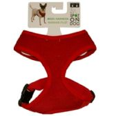 48 Units of MED SOFT HARNESS ASST COLORS - Pet Accessories