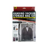 12 Units of Hanging Vacuum Storage Bag Set - Storage Holders and Organizers