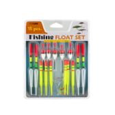 36 Units of Neon Fishing Floats Set - FISHING ITEMS