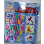 72 Units of MAGNETIC LETTERS & PICTURE CARDS - Educational Toys