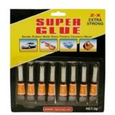 144 Units of 8PC SUPER GLUE - Glue Office and School