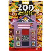 72 Units of Zoo Gallery Fun Stamping Play Set