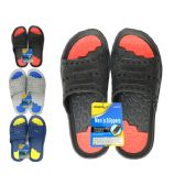 48 Units of Men's 2-Tone Eva Sandals