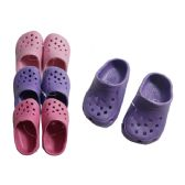 72 Units of Girls Garden Clogs Size: 18 - 23