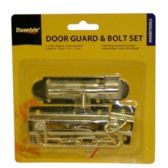 48 Units of DOOR GUARD & BOLT SET - Hardware Products