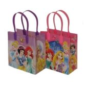 288 Units of SMALL PRINCESS PLASTIC GIFT BAG