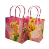 288 Units of SMALL TINKERBELL PLASTIC GIFT BAG