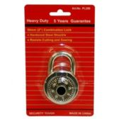 96 Units of HEAVY DUTY COMBINATION LOCK 50MM 2INCHES - Padlocks and Combination Locks