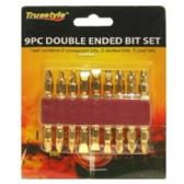 48 Units of 9PC DOUBLE ENDED BIT SET - Screwdrivers and Sets