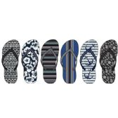 72 Units of Mens Assorted Fashion Flip Flops