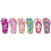 72 Units of Toddler Girls Assorted Flip Flop