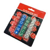 72 Units of 16mm Dice Set - Playing Cards, Dice & Poker
