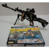48 Units of Camo Machine Gun with Lights and Sound Effects - Toy Weapons
