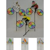 """60 Units of 20"""" Wind Spinner-Bike & Character"""