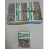 48 Units of 30cm Striped Paper Clips - Clips and Fasteners