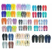 600 Units of Pallet Deal Assorted Men and Woman Flip Flops