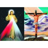 50 Units of 3D Picture 58--Jesus on Cross/Jesus with Stars
