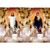 50 Units of 3D Picture 84--Jesus with Angels/Mary with Angels