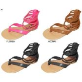 36 Units of GIRLS PU ANKLE STRAP SANDAL