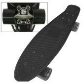 8 Units of Complete Plastic & Metal Skateboards- Black