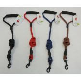 """120 Units of 48"""" Nylon Pet Leash with Cushioned Grip"""