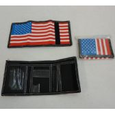 72 Units of Trifold Wallet [Flag]