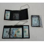 72 Units of Trifold Wallet with Chain [$100]