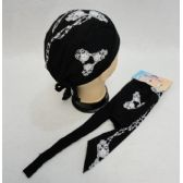 72 Units of Skull Cap-Skull with Chains - Bandanas