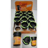 72 Units of Small Butt Bucket with Glow Edges - Ashtrays(Plastic/Glass)