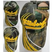 72 Units of PITTSBURGH Hat [Camo] Lines Only