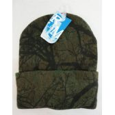 72 Units of Knitted Toboggan [Hardwoods Camo]