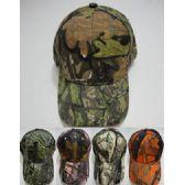 72 Units of Hardwoods Camo Hat Assortment