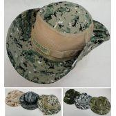 72 Units of Floppy Boonie Hat (Digital/Army Camo) Mesh Sides