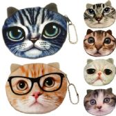 600 Units of COIN PURSES IN CAT/ ASSOERTED COLORS & PRINTS