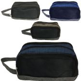 120 Units of SHAVE BAG / ORGANIZER IN ASST COLORS