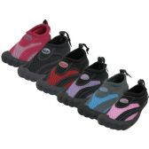 "36 Units of Wholesale Women's Barefoot ""Wave"" Water Shoes - Women's Aqua Socks"