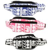 120 Units of FABRIC FANNY BAG WITH AN ADJUSTABLE WAIST STRAP (DIMENSIONS: 15 X 5 X 3) - Fanny Pack