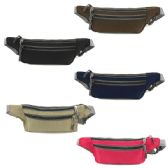 240 Units of FANNY BAG IN ASSORTED COLORS