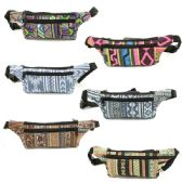 120 Units of FANNY BAG IN ASSORTED PRINTS AND COLORS