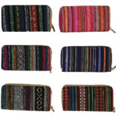 120 Units of QUALITY ONE ZIP WALLET IN ASSORTED PRINTS AND COLORS (DIMENSIONS: 4 X 7.5)