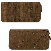120 Units of ALWAYS POPULAR CORK DESIGN WALLETS (DIMENSIONS: 4 X 7.5 X 1)